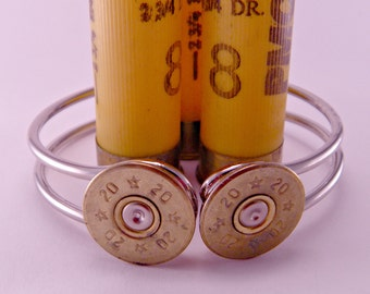 Annie Get Your Gun Recycled Brass Bullet Gunshell Bracelet Cuff