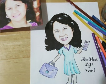Personalized cartooning great for gifts!