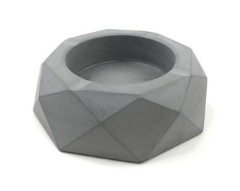 Geometry Concrete Ashtray(Small)
