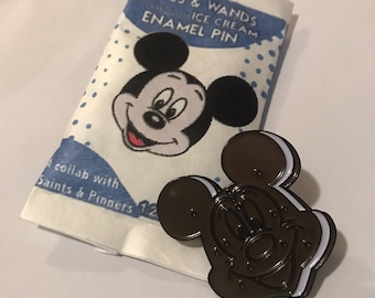 Made to Order (Ships in 4 weeks)  Mickey Ice Cream Sandwich Enamel Pin