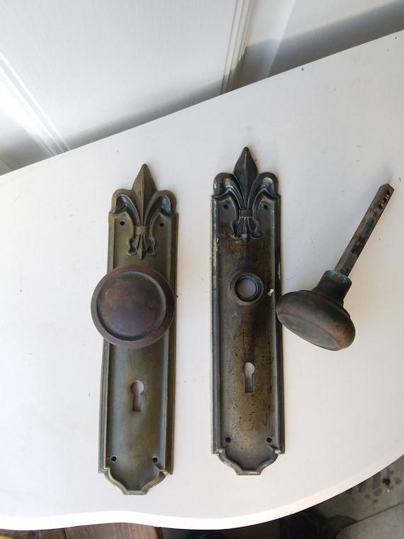 Gothic Decor Gothic Hardware Victorian Door Knobs Fleur de