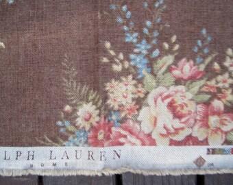 Ralph Lauren Linen Floral Upholstery Floral Fabric
