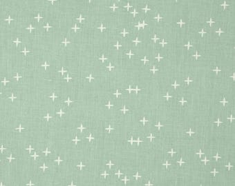 Mint Green Winks From Birch Organic Fabric's Mod Basics 3 Collection