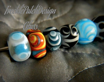 Cremation Urn Lampwork Glass Beads,  APPROX price,  Keepsake with Pet Ashes