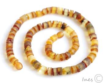 Raw Unpolished Baltic Amber Necklace Unisex