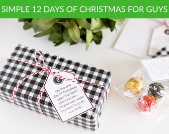 12 Days of Christmas for Guys Digital Download