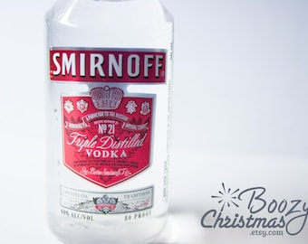 Smirnoff Christmas Ornament-- Smirnoff Vodka Themed Christmas Tree Ornament.