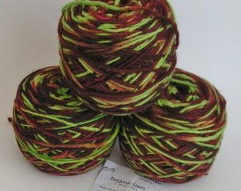 YARN SALE MALABRIGO Kettle Dyed Pure Merino Wool Color Burgundy Dash 144 Approx 100 gr 215 yds worsted 100 per cent soft merino wool artisan