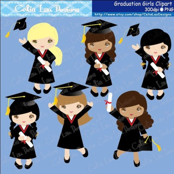 Art Girls Virtual Preschool: Graduation Clipart ,Preschool, Kindergarten Graduation