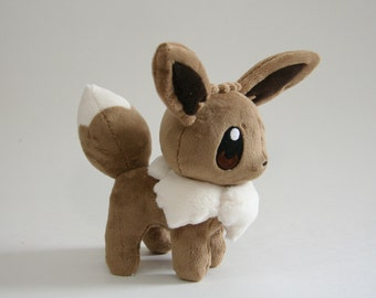 Pokemon Plush Eevee Fan-made - Made-to-Order