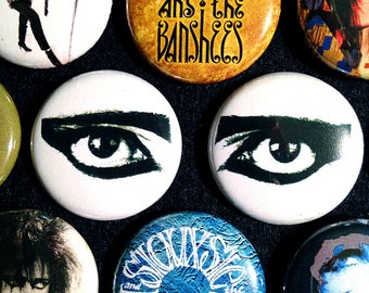 """10 (ten) Siouxsie & The Banshees 1"""" Pinback Buttons! FREE FAST SHIPPING"""