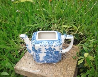 Masons ironstone blue and white  teapot