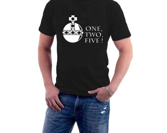 Holy Hand Grenade of Antioch T-shirt Monty Python Holy Grail Tribute Parody. Funny Tee.