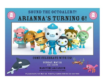 2 OCTONAUTS Cupcake Toppers Wrappers Printable DIY