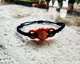 Macrame Bracelet Agate