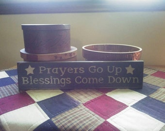 Prayers Go Up