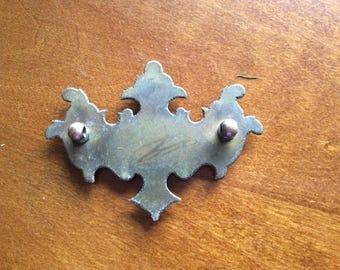 Salvaged Brass Drawer Pull | Salvaged Found Object