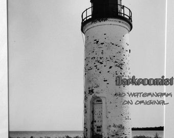 Whiskey Pt. Lighthouse, silver gelatin print