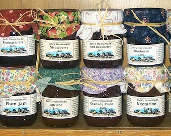 Four Flavor Box, Joni's Farm Made Vermont Jams and Such, Choose Your Flavors, Five Dollar Shipping