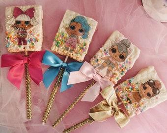 LOL Surprise doll rice Krispy pops express ship