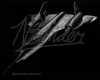 Nightbird   Blackbird   Jet  Lockheed SR-71