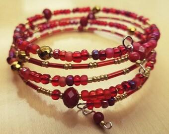 Scarlet Gold Bracelet