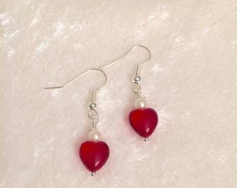 Handmade Sweetheart Earrings