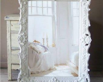 B A R O Q U E  Rococo Shabby Chic Mirror Cottage