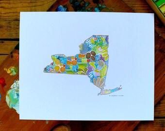 new york - ny - 8 x 10 inches