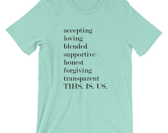 THIS. IS. US. Word Tee