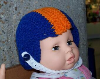 Football helmet for newborn to 6 months - great photo prop
