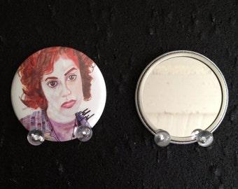 Tai Fraiser Clueless  original art pocket mirror