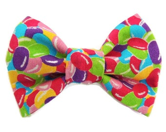 Bright Jelly Beans Pet Bow Tie- Dog, Cat, Collar