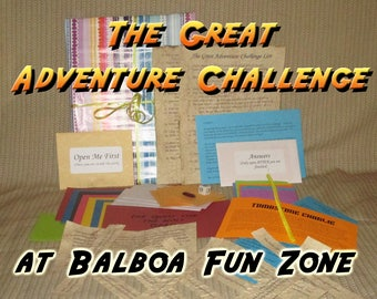 Scavenger Hunt Adventure - Balboa Fun Zone - The Great Adventure Challenge