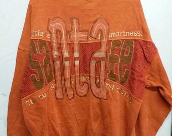 Vintage santa fe embroidered back big logo L