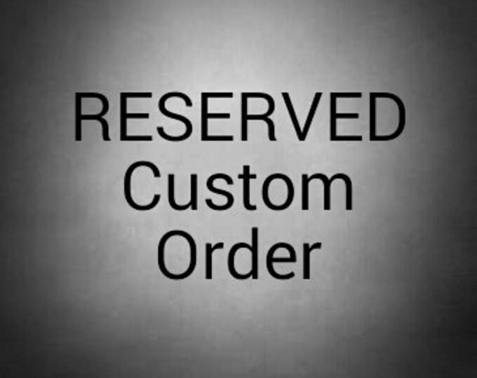 "Custom order 41 x 45"" RESERVED"
