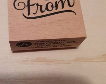 Retired Rubber Stamp   -   From