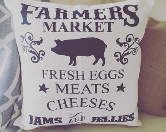 Farmers Market|Pillow Cover