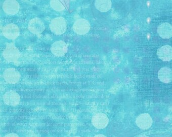 Blue Water/Ocean/H2O Themed Fabric - Quilting Cotton; [[by the half yard]]