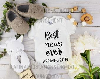 Social Media Baby Announcement 2019
