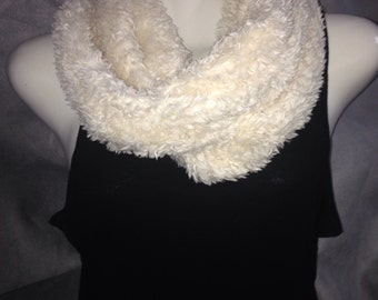 Infinity faux fur scarf