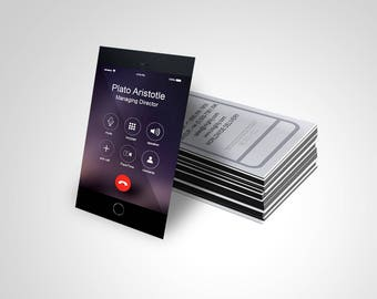 Business Cards (Iphonics Template)