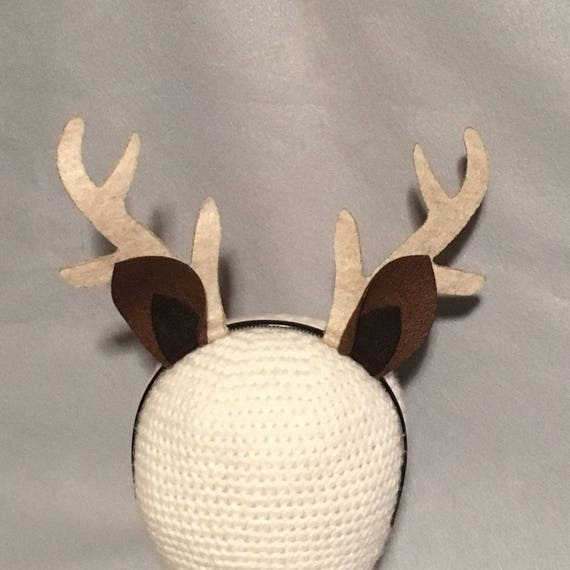 Antlers with ears deer reindeer headband birthday party favors