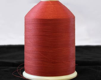 Coats ULTRA DEE Polyester Thread 16 OZ. Bonded Size DB45 Scarlet Red