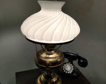 Vintage Aladdin Brass Table Lamp