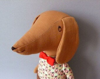 Dachshund  - H.P. 21 Dog Plush Toy stuffed Doll Plushie Softie