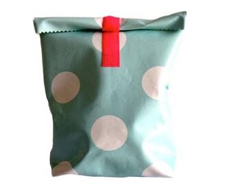 Lunchbag Pink & Mint