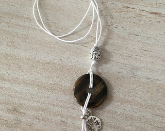 Natural stones necklace