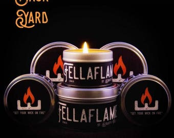Back Yard FellaFlame Candle
