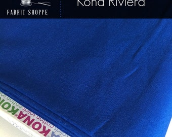 Kona cotton solid quilt fabric, Kona RIVIERA 455, Kona fabric, Solid fabric Yardage, Kaufman, Blue fabric, Choose the cut
